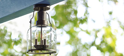 Exterior Semi-Flush Mount Lights
