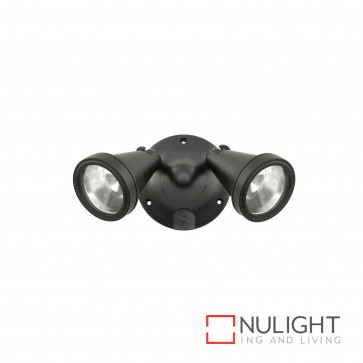 Secura Black Diy Twin Ceiling Light With Out Sensor 100W G9 Inc BRI