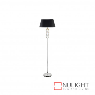 Lozi Floor Lamp Polished Nickel BRI