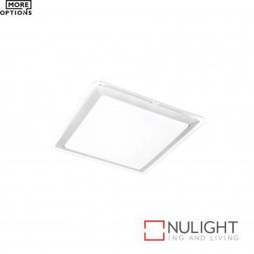 Henri T5 Square Ceiling Light-Silver BRI
