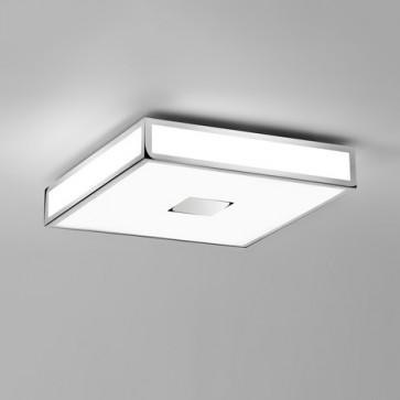 Mashiko 400 Square LED Emergency Selftest Polished Chrome 1121072 Astro