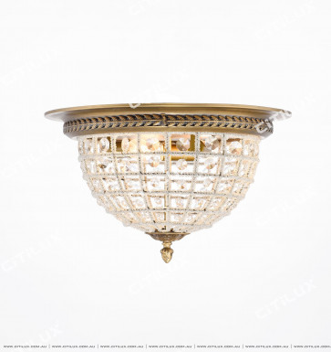 Nordic Hand-Woven Crystal Bead Ceiling Lamp Citilux
