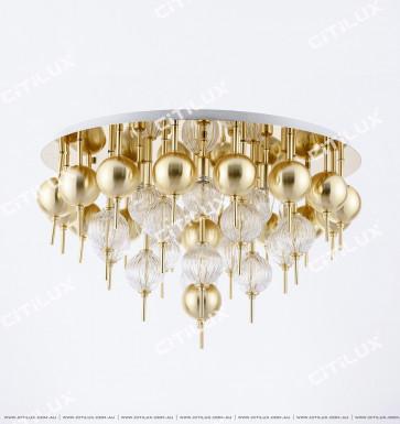 Modern Minimalist Spherical Large Ceiling Lamp Citilux