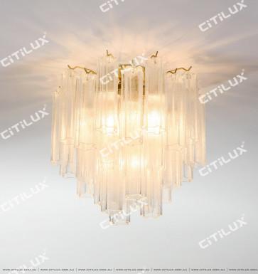 Modern Enamel Glass Ceiling Lamp Citilux
