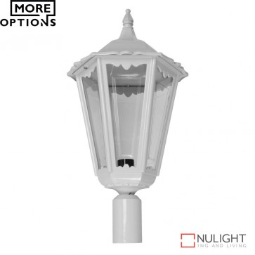 Gt 166 Chester Large Post Top Light B22 DOM