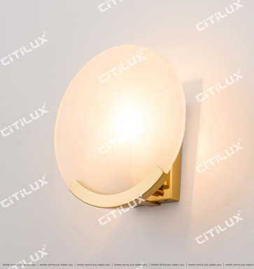 Spanish Marble Sun Wall Lamp Citilux