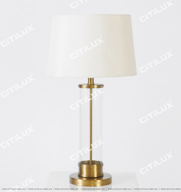 Modern And Simple American Style Glass In Middle Table Lamp Citilux
