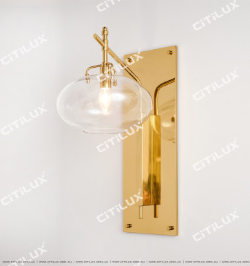 New Chinese Style Stainless Steel Clubhouse Aisle Wall Lamp Citilux