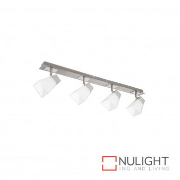 Ellie 4Lt Square Glass Spotlight - Chrome BRI