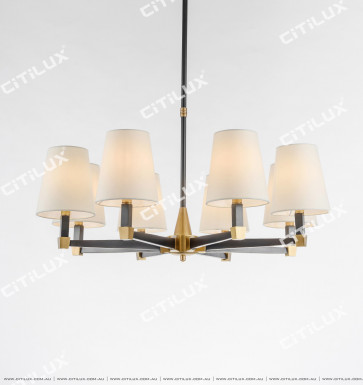 American Copper Classic Two-Color Chandelier Large Citilux
