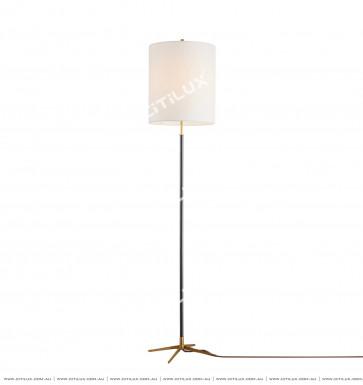 Simple American Copper Double Color Floor Lamp Citilux