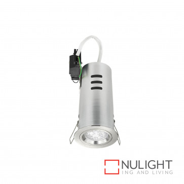 Downlight Kit - Round Fixed Gu10 Inc Heat Can-Brushed Nickel BRI