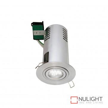 Haus Round Gimbal Downlight Gu10 In Heat Can-Brushed Aluminium BRI