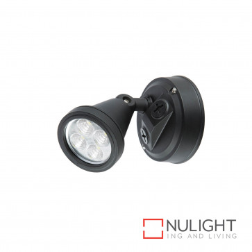 Secura 1X4W Led Floodlight Black BRI