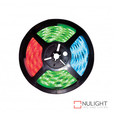 Led 5M Strip Light Inc Driver With Flex And Plug And Remote Ip44 Rgb BRI