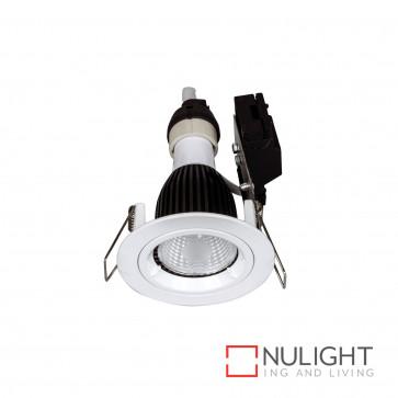 Downlight Kit - Fixed Gu10 Globe Not Included-White BRI