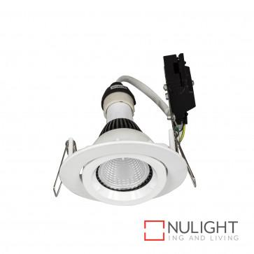 Downlight Kit - Gimbal Gu10 Globe Not Included-White BRI