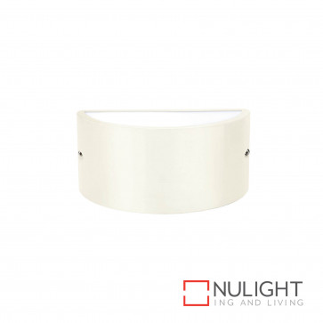Chatri Curved Up And Down Wall Light Beige BRI