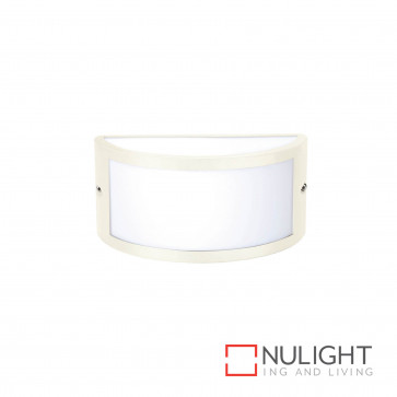 Chatri Curved Up And Down And Out Wall Light Beige BRI
