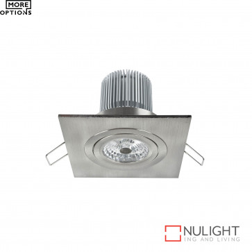 Luxor Led Square Gimbal Downlight 12W 800Lm  BRI