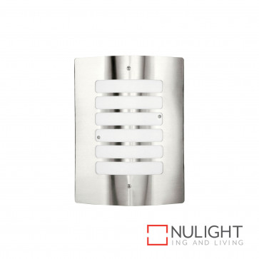 Cairns Rectangular Slotted Wall Light 304 Stainless Steel BRI
