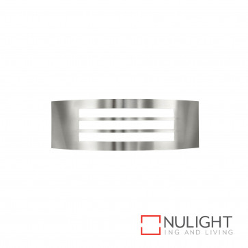 Cairns Narrow Slotted Wall Light 304 Stainless Steel BRI