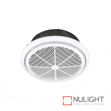 Whisper Small 240Mm Exhaust Fan With Draft Stopper - White BRI