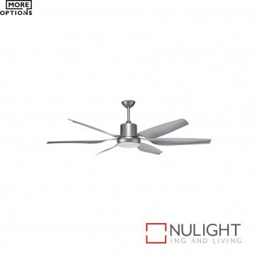 Aviator 66 Inch Ceiling Fan-Oil-Silver With Blades BRI