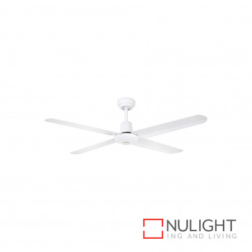 Somers 48 Inch Metal Ceiling Fan-White BRI