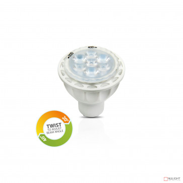 Globe - Gu10 Led 6W 350Lm 3000K Adjustable Angle BRI