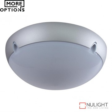 Vl 134002 Medium Round 240V Polycarbonate Ceiling Light E27 DOM