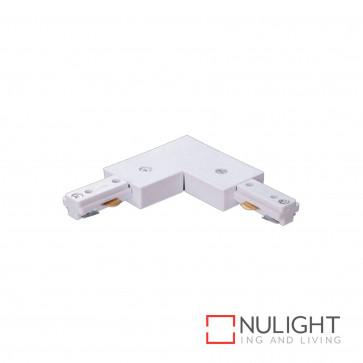 Track 3-Wire Lh Corner - White BRI