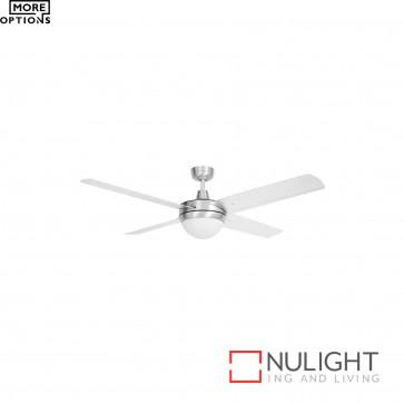 Tempest 52 Inch Celing Fan With 2Xb22 Light- Alum With Aluminium Blades BRI