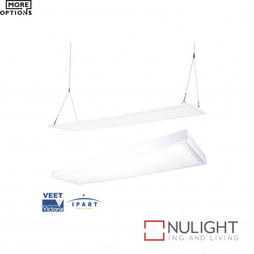 Led Panel 1200X300Mm With Accessories - White BRI