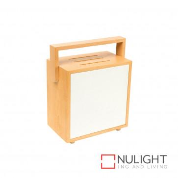 Brunswick Timber And Paper Table Lamp Nat BRI