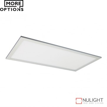 Panel 306 Rectangular 36W Led Panel Light Natural Anodised Aluminium Frame Led DOM