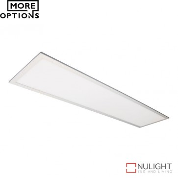 Panel 312 Rectangular 45W Led Panel Light Natural Anodised Aluminium Frame Led DOM
