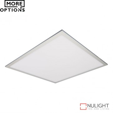Panel 606 Square 45W Led Panel Light Natural Anodised Aluminium Frame Led DOM