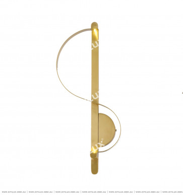 S-Shaped Linear Simple Wall Lamp Citilux