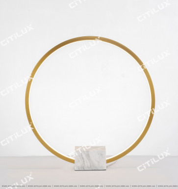 Marble Ring Table Lamp Large Citilux