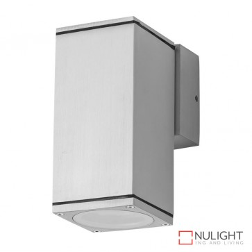 Alpha 1 Rectangular 240V Led Wall Light Anodised Finish Body Only DOM