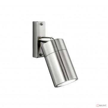 Denver-Ii Adjustable Wall Light Inc 4W Led Globe-316 Stainless Steel BRI