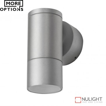 Elite 1 Cylindrical 240V 6W Led Wall Light Anodised Finish Led DOM