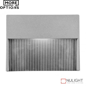 Step Rec 4W Recessed Steplight Silver Led DOM