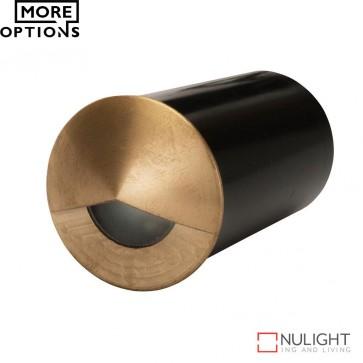 Mini Eye 3W Led Steplight Brass Cover Led DOM