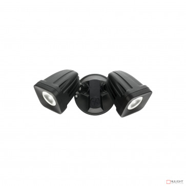 Viper 2 Light Led Spotlight- Black BRI
