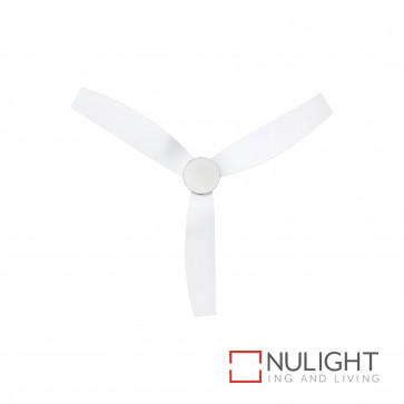 Cayman 52 Inch Dc Ceiling Fan With Light White BRI