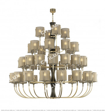 Classic American Multi-Tier Chandelier Citilux
