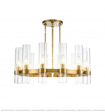 Modern Copper Ceiling Lamp Citilux