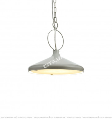 Single Head High Gray Chandelier / Bar Light Citilux
